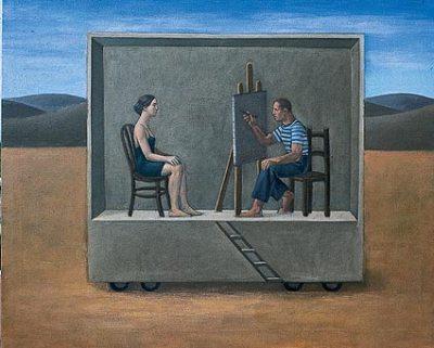 Pintor y modelo
