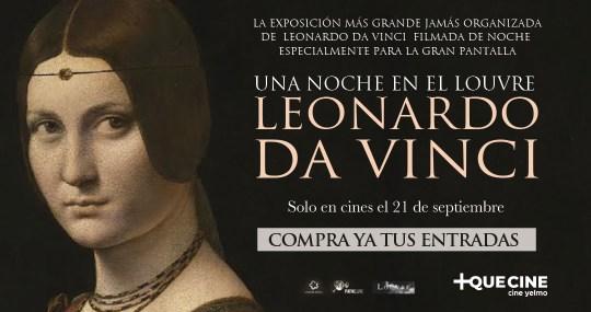 Una noche con Leonardo Da Vinci