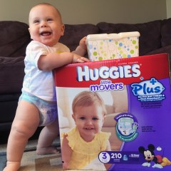 Huggies Little Movers & Snugglers Plus Diapers