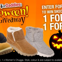 Halloween Skechers Shoes Giveaway!
