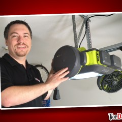 RYOBI Ultra-Quiet Garage Door Opener Review
