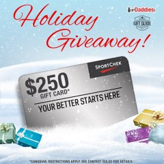 Holiday Giveaway #2: A $250 Gift Card To Sport Chek!