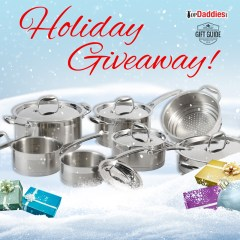 Holiday Giveaway #3: Lagostina Merano 13pc Cookware Set!