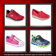 Family Day Giveaway: Four Pairs of Skechers Shoes!