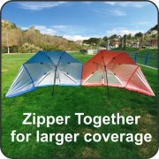 EasyGo-Products-Brella-the-Ultimate-2-in-1-Umbrella-Shelter-Beach-Cabana-Tent-Sun-Shelter-Sets-Up-in-Seconds-Blue-0-5