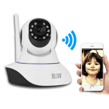 HD Wireless WiFi Camera - Baby Pet Monitor Rotatable Security System