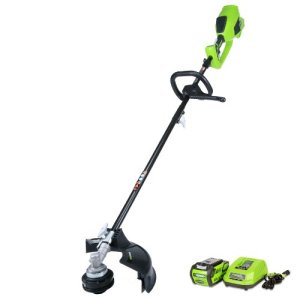 GreenWorks-21362-G-MAX-40V-Digipro-14-Inch-String-Trimmer-4AH-Battery-and-Charger-Included-Attachment-Capable-0