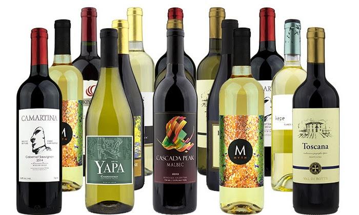 15 Bottles of Premium Wine