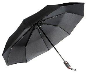 Repel-Easy-Touch-Umbrella-DuPont-Teflon-Travel-Umbrella-Black-0
