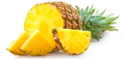 Ananás Ovocie s najväčším obsahom vody