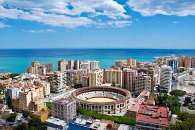 Malaga, Španielsko Najlepšie počasie po celý rok