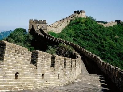 Veľký čínsky múr Divy staroveku