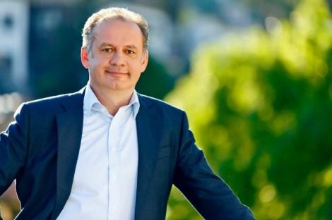 Prezident Andrej Kiska Slovensko