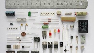 Elektrotechnické súčiastky