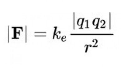 Coulombov zákon