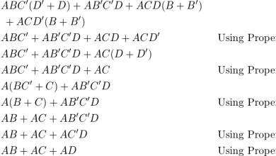 Minimalizácia logických funkcií