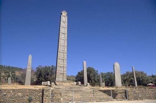 1. Obelisk Axum - Etiópia