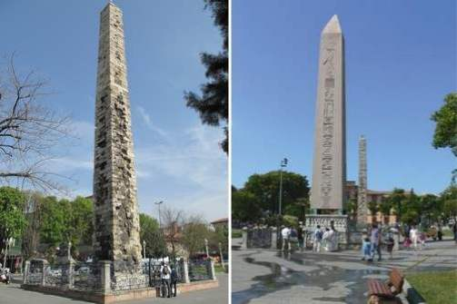 10. Walled Obelisk - Istanbul, Turecko