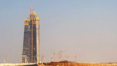 1. Kingdom Tower, Jeddah - 1,000+m Najväčšia budova
