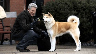 1.Hačikó Príbeh psa Filmy o psoch