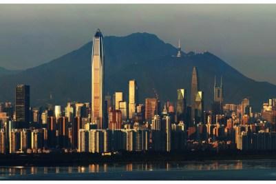 5. Ping'an International Financial Center, Shenzhen - 599.1m Najväčšia budova