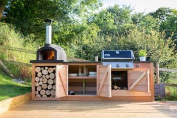 dizajn vonkajšej kuchyne Vonkajšia kuchyňa