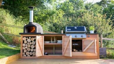 dizajn vonkajšej kuchyne