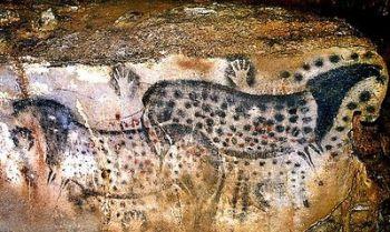 jaskynna malba koni  jaskynné maľby koní