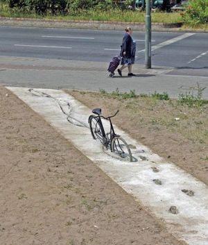 bycikel v betone