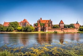 Hrad Malbork Najväčší hrad na svete 10 najväčšie hrady na svete