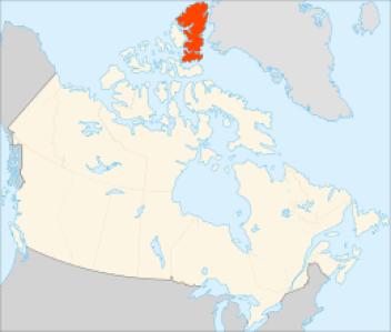 Ellesmerov ostrov Najväčší ostrov na svete