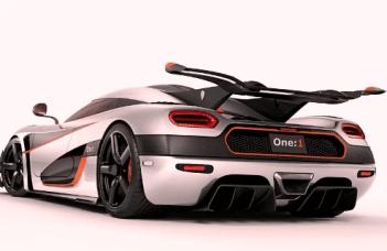 3. Koenigsegg One:1