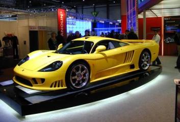 8. Saleen S7 TT Najrýchlejšie auto na svete - top 10 najrýchlejšie autá