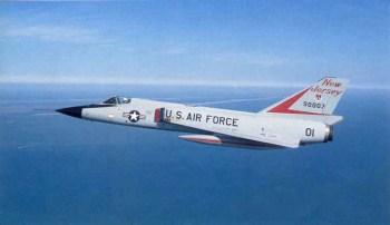 Convair F-106 Najrýchlejšia stíhačka