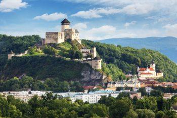 Trenčiansky hrad Hrady na Slovensku