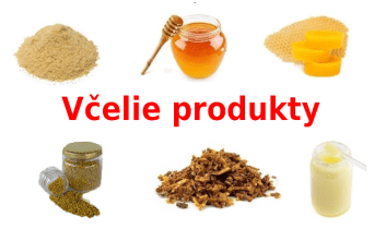 produkty včiel