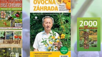 knihy pre záhradkárov