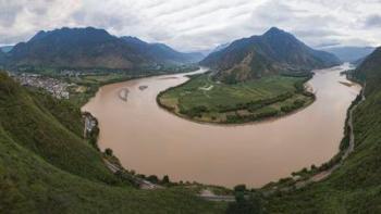 Najdlhšia rieka na svete Rieka Yangtze (Jang-c´-tiang)