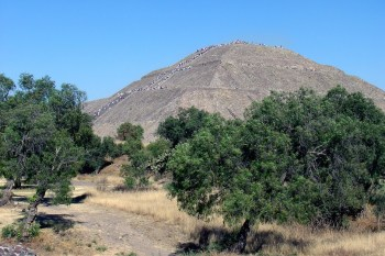 Staroveké zrúcaniny 8. Teotihuacan