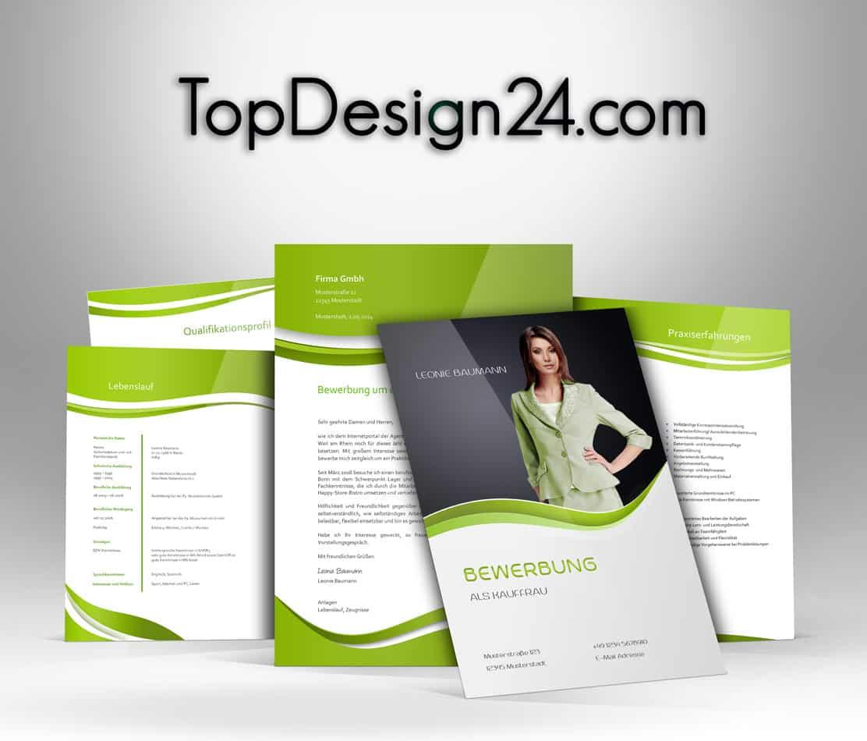 Bewerbungsanschreiben – Green–TopDesign24
