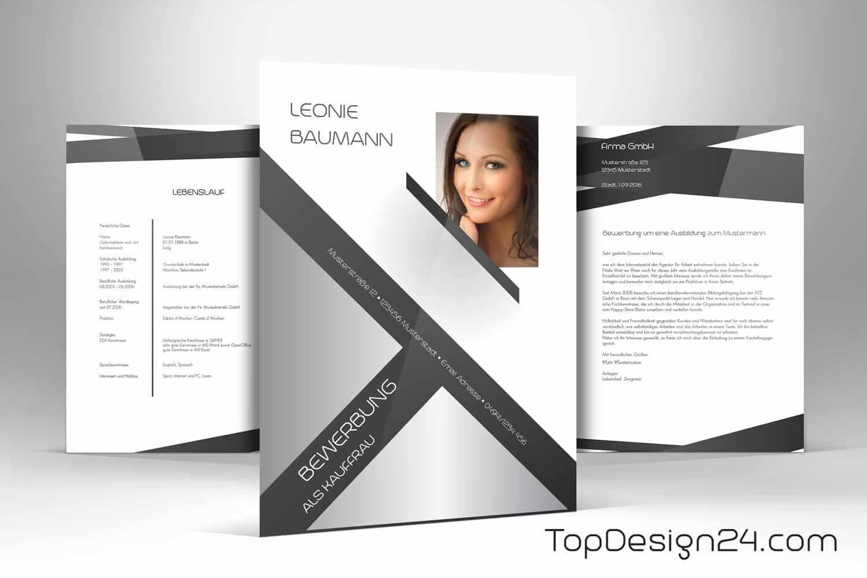 Modern Home Design Layout Bewerbung Design Vorlage Topdesign24 Deckblatt Leben