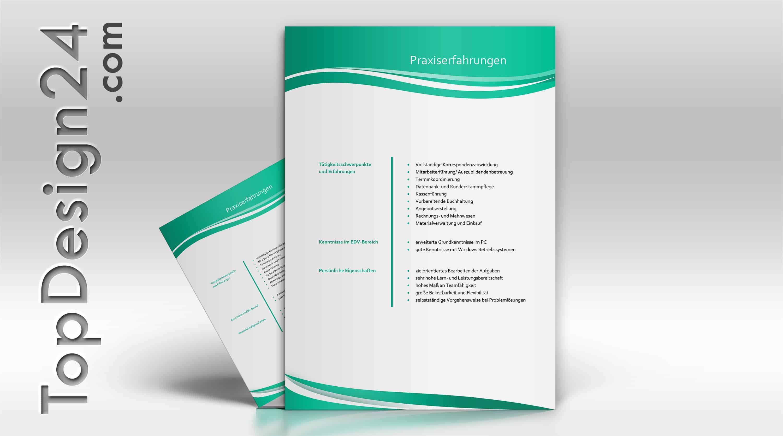 Lebensläufe -TopDesign24- strukturiert und geordnet- All in