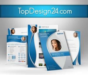 bewerbung design kostenlos