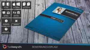 Lebenslauf Design Deckblatt