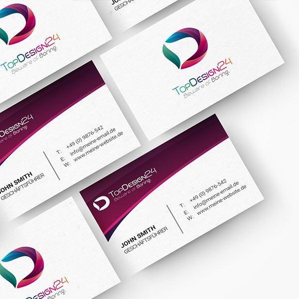 Visitenkarte-und-Logo-Topdesign24-com