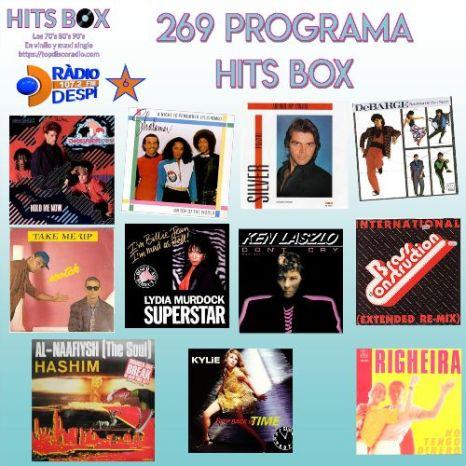 269 Programa Hits Box con Xavi Tobaja.
