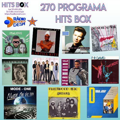 270 Programa Hitx Box con Xavi Tobaja de Topdisco Radio