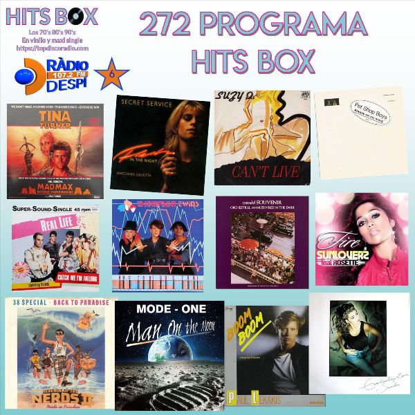 272-Programa-Hits-Box-Vinyl-Edition-Topdisco-Radio-Radio-Despi-Dj. Xavi Tobaja