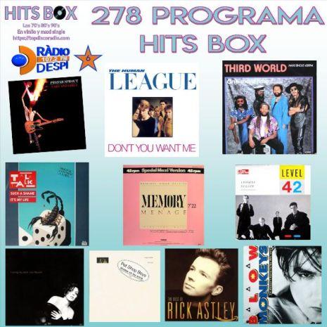 278 Programa Hits Box - Topdisco Radio - Dj. Xavi Tobaja