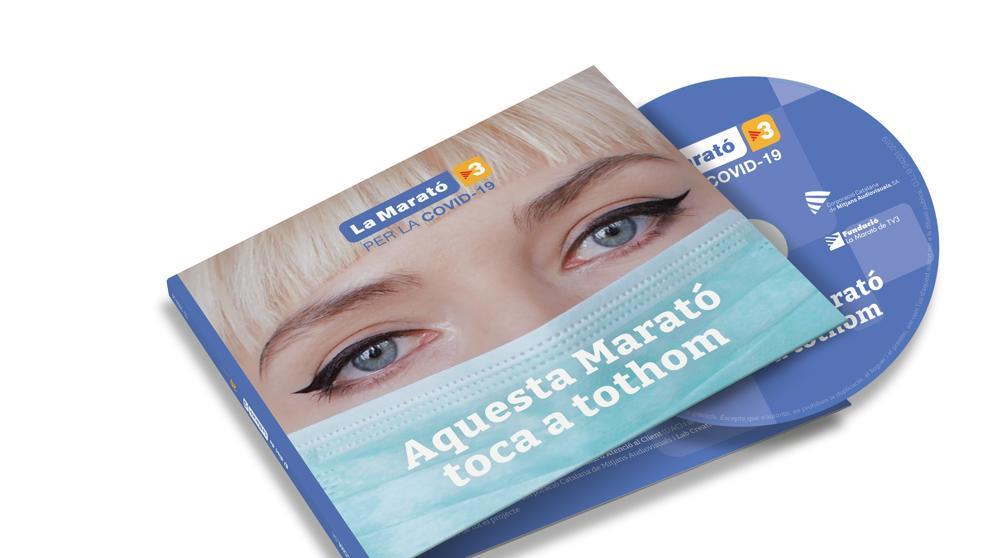 CD Disc de la Marató 2020 - Topdisco Radio